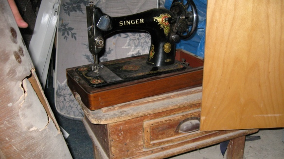 sewing machine revealed
