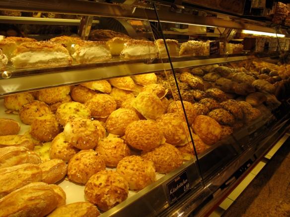 bread and bread and bread