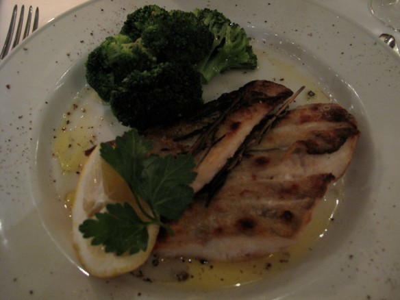My dish - pike perch