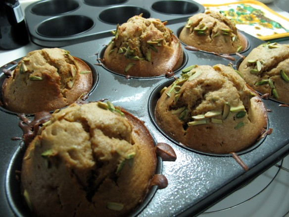 muffins after oven
